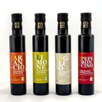 Olio EVO al peperoncino Cartechini condimento naturale Italiano