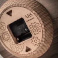 PENDOLA dark VES design made in Italy Orologio parete design contemporaneo