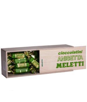 CIOCCOLATINI al latte aromatizzati con anisetta Meletti