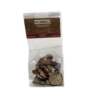 Summer TRUFFLE dehydrated in slices Italian Nerobio Specialty pure BIO Truffle