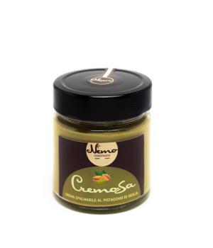 Crema spalmabile al Pistacchio di Sicilia - NEMO brand Dolciaria Marche