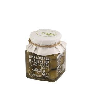 Olive in salamoia Gregori Oliva Ascolana del Piceno DOP eccellente