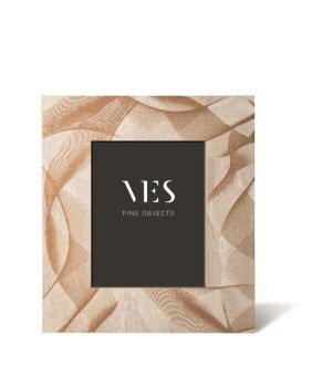 VORTICE VES design Portafoto con moderna cornice in legno made in Italy