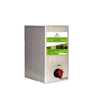 Bag in box Saputi Colli Maceratese bianco DOC vino biologico