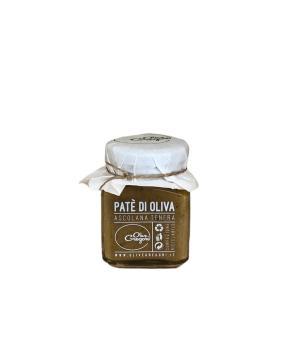 Pate' Gregori Oliva Ascolana del Piceno DOP salsa in vasetto