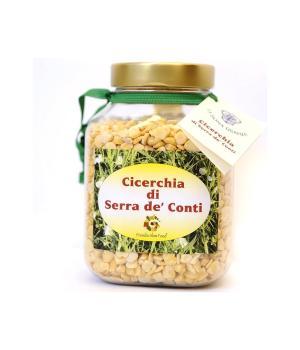 CICERCHIA decorticata La Bona Usanza legume tipico di Serra de' Conti