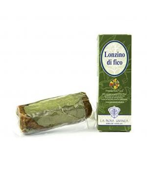 LONZINO di FICO - FIG ROLL old-fashioned product at Slow Food Presidium