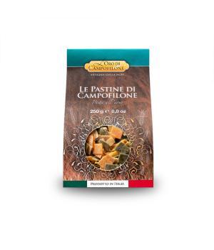 QUADRUCCI Tricolori Carassai Pastina uovo Campofilone qualità Italiana