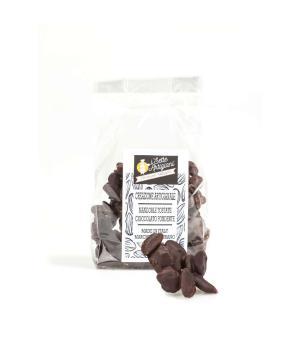 Mandorle Tostate glassate cioccolato fondente i 7 Artigiani snack