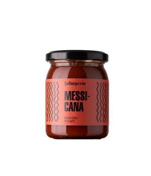 Messicana salsa chili piccante Salimperio brand Rinci