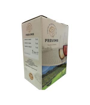 Bag in Box Provima bianco Marche IGT Verdicchio Trebbiano Chardonnay