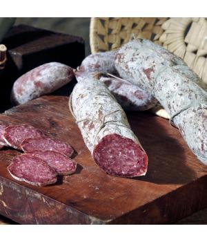Wildschweinsalami Italienische Alto Nera typische Bergwurst