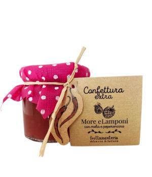 More lamponi mele e peperoncino Fruttamenteria confettura extra