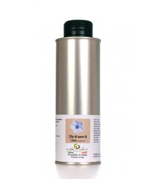 FLAX SEED OIL Cartechini no roasted no refined