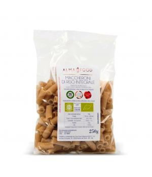 MACCHERONI of rice BIO Alma Food Italian wholemeal pasta NO gluten