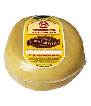 PECORINO FOSSA Italian TreValli in Santa Cheese in tuff caves seasoned
