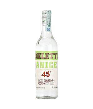 ANICE Meletti Liquore gradevole ideale per un cocktail o soft drink