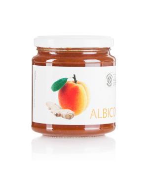 Albicocca e Zenzero composta BIO San Michele Arcangelo sintesi del gusto