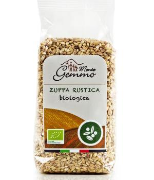 ZUPPA RUSTICA BIO Monte Gemmo miscela di legumi e cereali