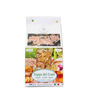 ZUPPA DEI CONTI La Bona Usanza legumi cereali spezie con curcuma e zenzero