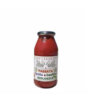 PASSATA con cipolla e basilico BIO San Cesareo per arricchire i vostri piatti
