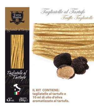 TAGLIATELLE with truffle Terra Nostra Gastronomic specialty