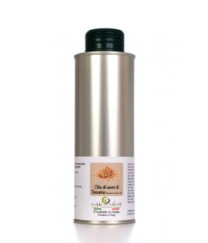 Organic SESAMO OIL extracted mechanically no refining processes no roasted