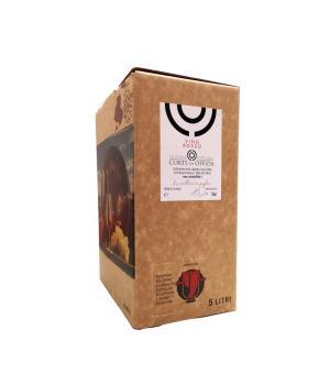 Bag in box La Corte di Offida vino rosso ottimo vino quotidiano