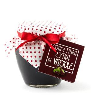Confettura extra di visciole Nero Visciola una delizia naturale italiana