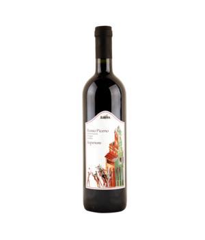 ROSSO PICENO DOP Superiore Aurora vino rosso Biologico e biodinamico