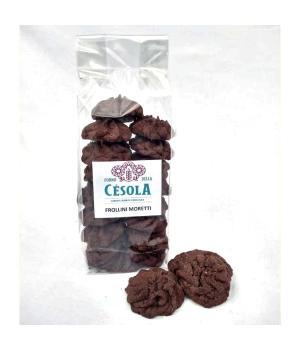 MORETTI coffee and cocoa shortbread biscuits Forno della Césola Aromatic