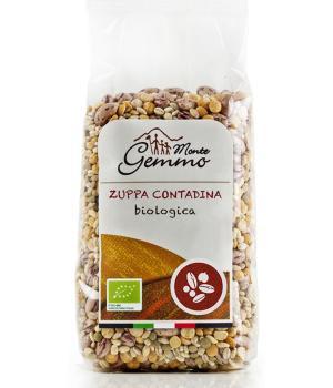 ZUPPA CONTADINA BIO Monte Gemmo miscela di legumi e cereali