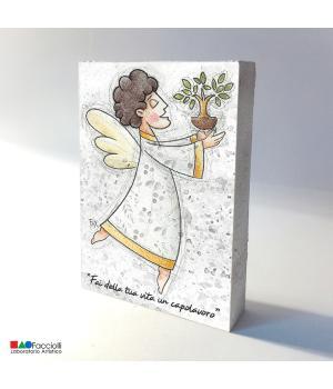 ANGELO della VITA stampa Fine-Art su legno - Facciolli Laboratorio artistico