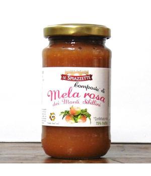 Composta MELA ROSA Le Spiazzette Presidio Slow Food dei Monti Sibillini