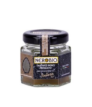 Organic precious black truffle whole in brine NEROBIO