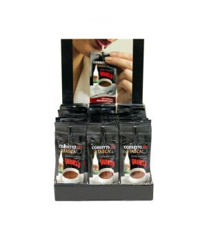 Caffe' espresso corretto al Varnelli bustina con cannuccia