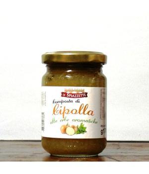 Cipolla + erbe aromatiche Le Spiazzette composta agrodolce per formaggi