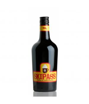SKIPASS dunkler Schokolade Likör mit Whisky Aroma