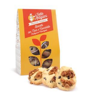 Walnut and Chocolate Biscuits I 7 Artigiani ancient and genuine flavors