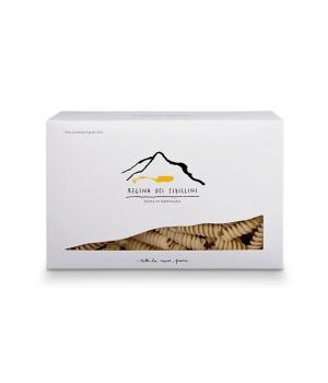 FUSILLI Regina dei Sibillini pasta di grano duro coltivato in montagna