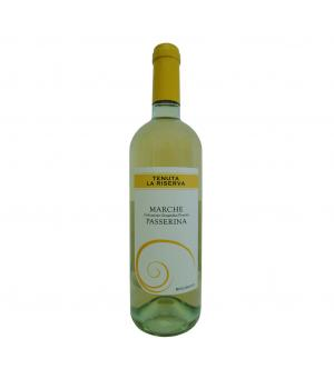 PASSERINA Marche IGP Organic white wine Tenuta La Riserva