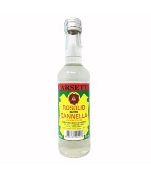 ROSOLIO gusto cannella Carsetti Liquore dolce