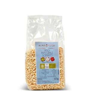 RISO soffiato Integrale Biologico Gluten Free Alma Food