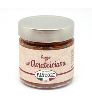SUGO all' AMATRICIANA Fattori sugo pronto italiano senza additivi