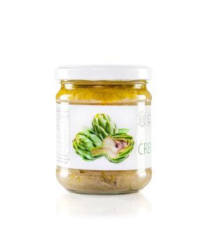Crema di CARCIOFI BIO  San Michele Arcangelo gourmet italiani KM 0