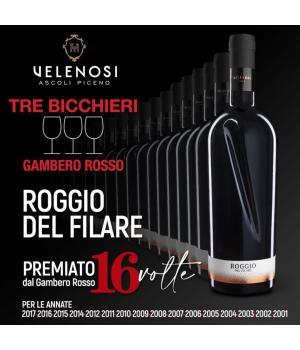 ROGGIO del FILARE Velenosi vino Rosso Piceno Superiore DOC