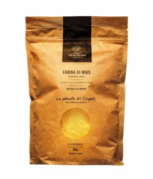 Organic Quarantino corn flour Ideal for polenta Bravi Mill