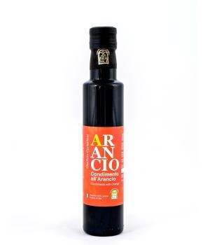 Oil EVO with orange Cartechini Italian food seasoning