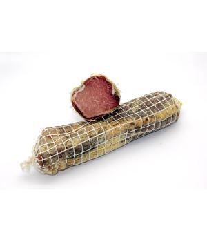 LONZINO Puzielli Carne di maiale italiano stagionata in grotta