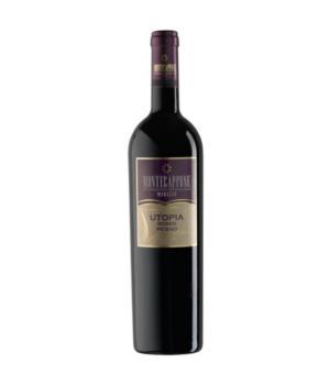 UTOPIA rosso Montecappone Marche IGT da uve Montepulciano